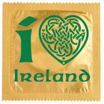 préservatif personnalisé - I love Ireland